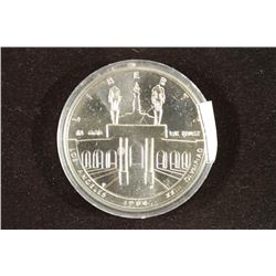 1984-P US OLYMPIC SILVER DOLLAR UNC