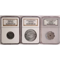 Three Different Tokens