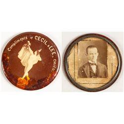 Cecil & Lee Advertising Mirror