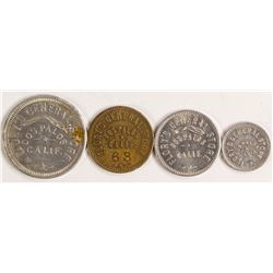 Flory's General Store Token Set