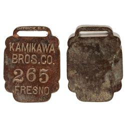 Kamikawa Bros. Fob