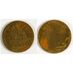 White Fawn Saloon Token