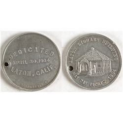 Laton Library Dedication Token