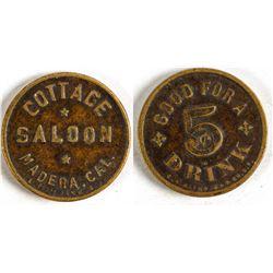 Cottage Saloon Token