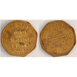J. McCarger's Saloon Token
