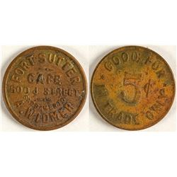 Fort Sutter Token