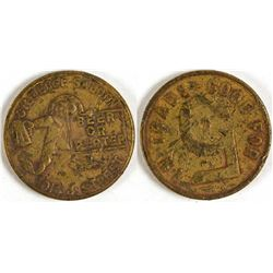 Gilt Edge Saloon Token