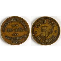Golden Gate Saloon Token