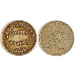 Sacramento County Branch Jail Token