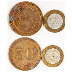 Becker Brothers Tokens