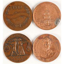 Eugene Schmitz & Junior Expo Medals