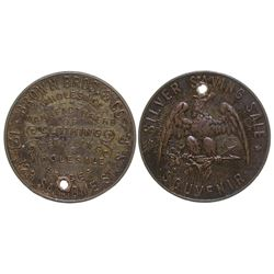 Extremely Rare Brown Bros. & Co. Token