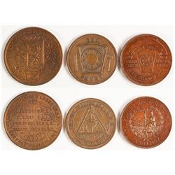 Fraternal Lodge Tokens