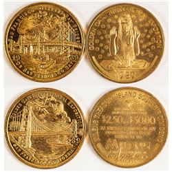 Golden Gate International Exposition Medals