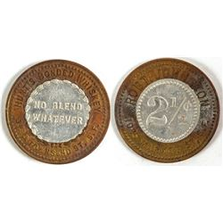 Hunt's Bonded Whiskey Token