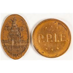 Pan Pacific Exposition Medals