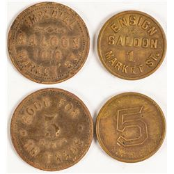 Saloon Tokens