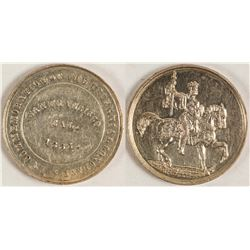 Triennieal Conclave Silver Medal