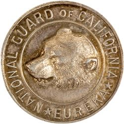 High Relief National Guard Medal