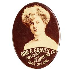 Orr & Graves Co. Advertising Mirror