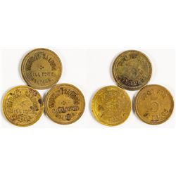 Midway Saloon Tokens