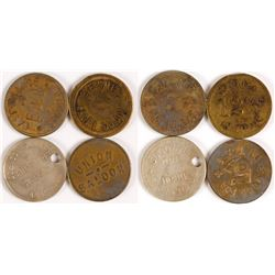 Montana Saloon Tokens