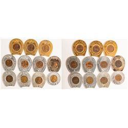 11 Encased Cents
