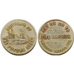 The Harbor Pictorial  Token