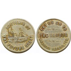 The Harbor Pictorial  Token