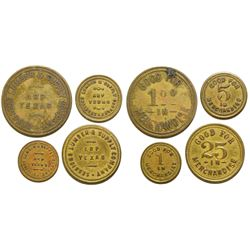 Sessions Lumber & Supply Co. Tokens