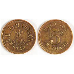 C. E. Richardson Token
