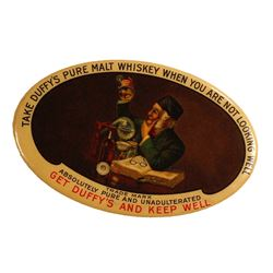 Duffy's Whiskey Advertising Mirror