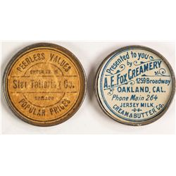 Early Advertising Mirrors