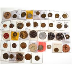 Large Group of Maverick and Other Tokens