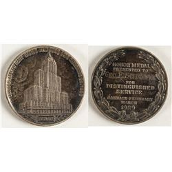 Silver Honor Medal