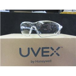 5 New Pairs of UVEX Clear Safety Glasses by Honeywell