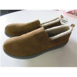 New Mossimo Mens Slippers Genuine Suede non marking sole / size 11
