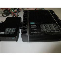 Sansui Car High Power Amps   SM - 100  &   SM - 50