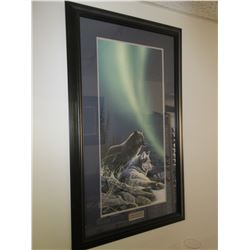 Art Print 26 x 45 Signed & Numbered 195/450 Northern Tranquility by