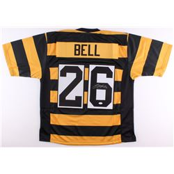 d60d179a985 Le Veon Bell Signed Steelers Throwback Jersey (JSA ...