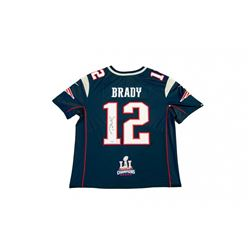 f3888913910 Tom Brady Signed Patriots Limited Edition Jersey with Super Bowl LI ...