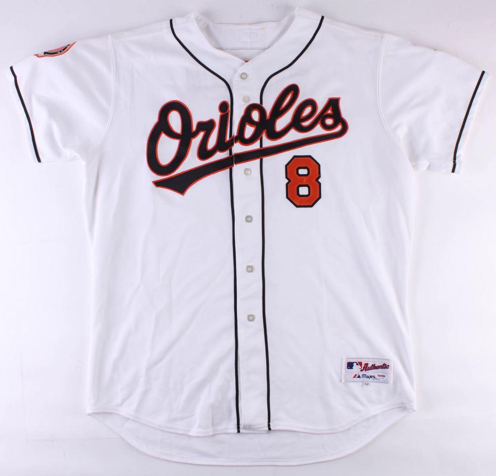 best website 6803f ac763 Cal Ripken Jr. Signed Orioles Majestic Jersey Inscribed