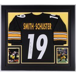 b75b0efb2 John JuJu Smith-Schuster Signed Steelers 31x35 Custom Framed Jersey (JSA  COA)