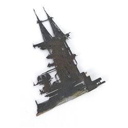Blade Runner (1982) - Hades Etched Brass Refinery Landscape Miniature