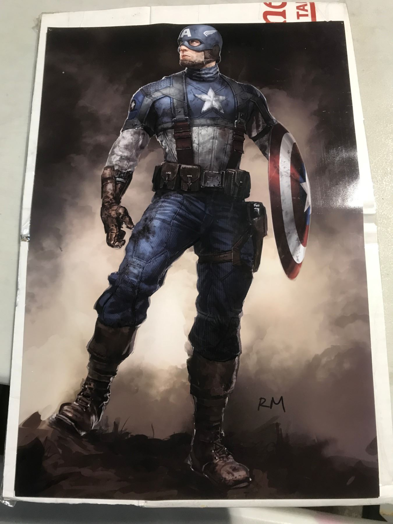 Captain America The First Avenger 2011 Production Used Concept Art Photos