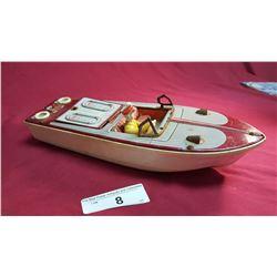 Vintage Toy Boat