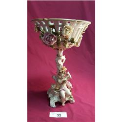 Meissen Convertible from Candle Holder to Bowl