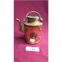 Brass Chinese Teapot