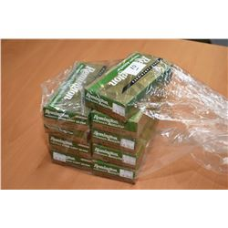 Bag Lot : Nine Boxes ( 20 rnds per ) Remington Premier Accutip & Core Lokt Ultra .260 Rem Cal 120 &