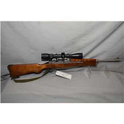 Ruger Model Mini 14 .223 Cal Mag Fed Semi Auto Carbine w/ 18 1/2  bbl [ stainless finish, with some